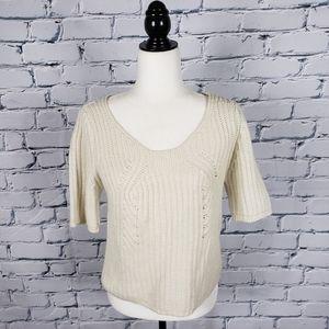 W118 by Walter Baker White Knit Sweater